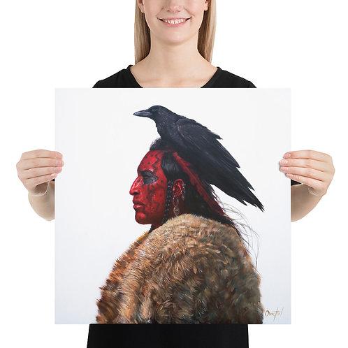 """Fine Art Print """"Blood Raven"""""""