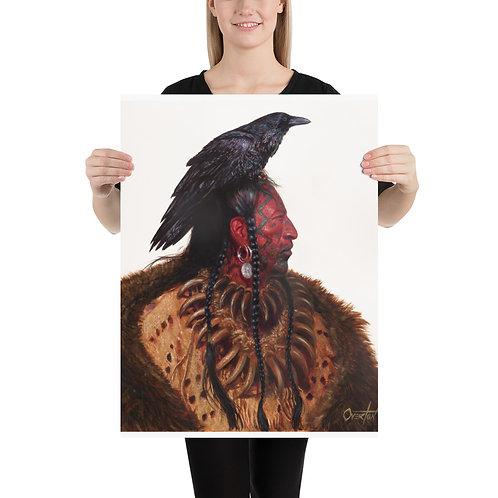 """Fine Art Print """"Raven Hand"""""""