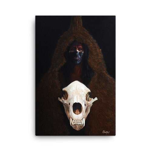 "Canvas ""Hollow Horn Bear"""