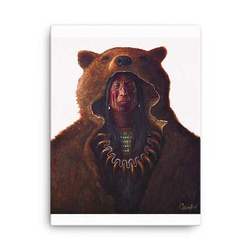 "Canvas ""Blood Hand Bear"""