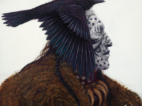 Ghost Raven (Hand Signed)