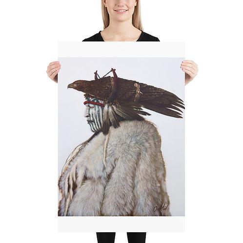 "Fine Art Print ""Ghost Hawk"""