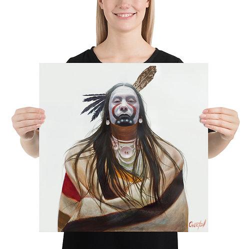 """Fine Art Print """"White Bull"""""""