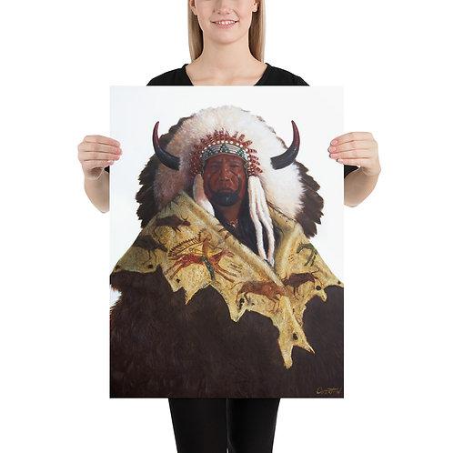 "Fine Art Print ""One Bull"""