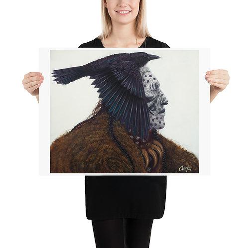 "Fine Art Print ""Ghost Raven"""
