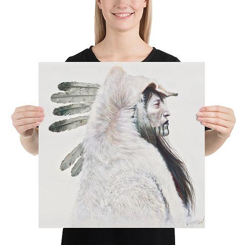 "Fine Art Print ""Storm Cloud Wolf"""