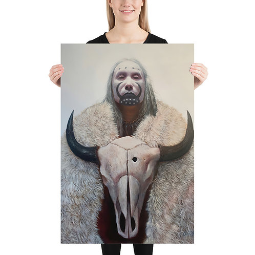 "Fine Art Print ""White Buffalo"""