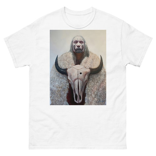"""White Buffalo"" Men's heavyweight tee"