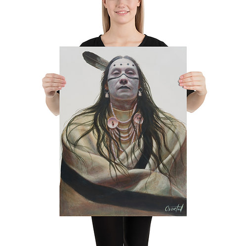 "Fine Art Print ""Striking Eagle"""