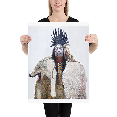 "Fine Art Print ""Wolf King"""