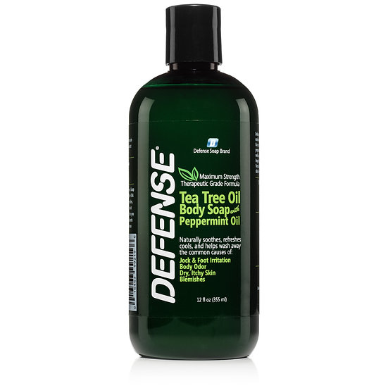 Defense Peppermint Shower Gel | 低敏全天然薄荷味潔膚皂液 - 12oz