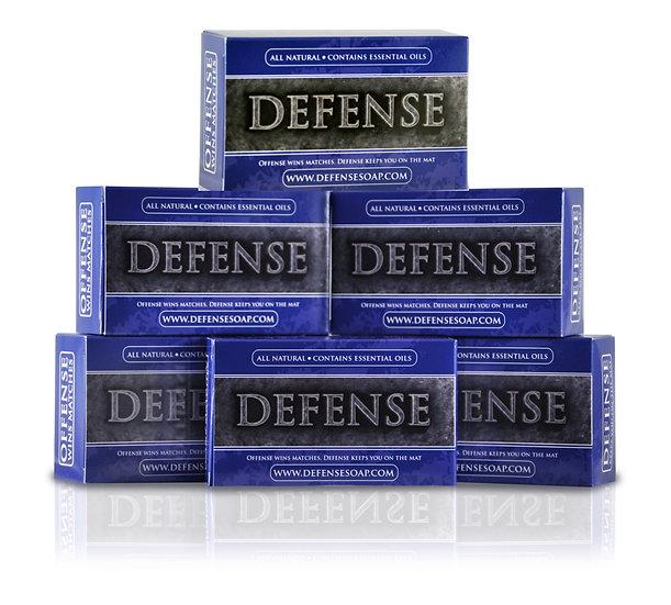 Defense Soap Bar (4oz) - Pack of 6 | 全天然茶樹及尤加利精油肥皂 (4oz) - 6盒裝