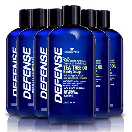 Defense Shower Gel (12oz) - Pack of 6 | 低敏全天然潔膚皂液 (12oz) - 6支裝