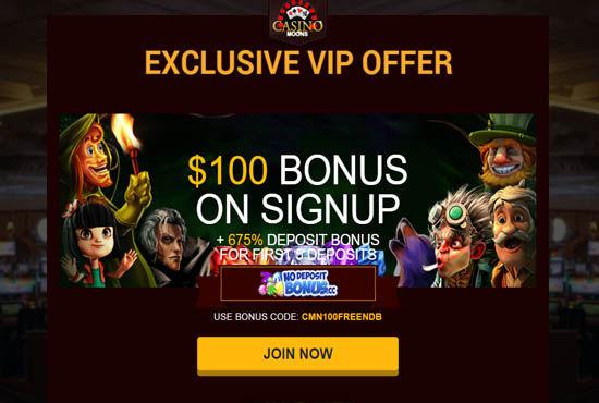 Casino Moons Bonus Codes 2021