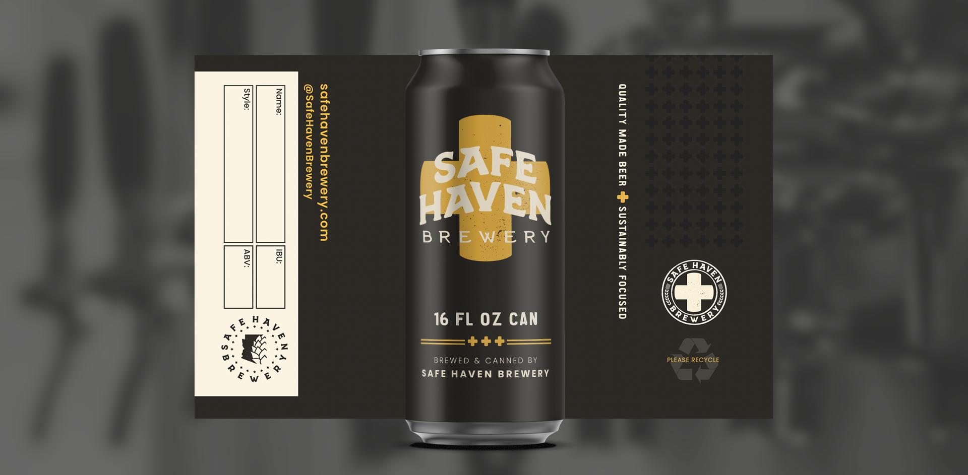 Safe Haven Brewery - Brand Development