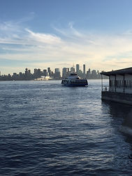 Seabus to downtown Vancouver