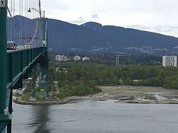 Lions Gate bridge to North Vancouver