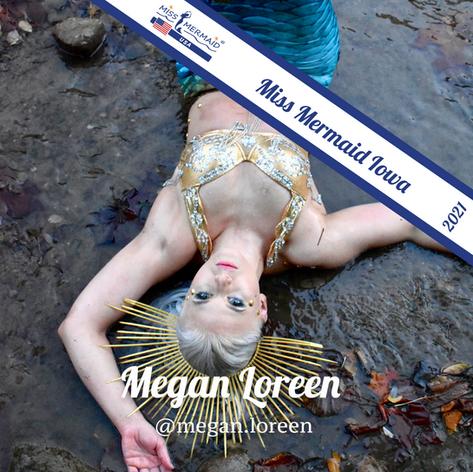 Miss Mermaid Iowa 2021