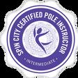 Spin City Certified-Intermediate Pole.pn