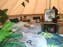 Jungle bell tent