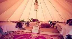 bridal suite bell tent