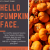Pumpkin is the October Facial of the Month