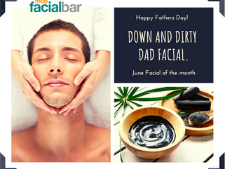 Down and Dirty Dad Facial - June FOM