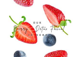 berry + detox | September Facial of the Month