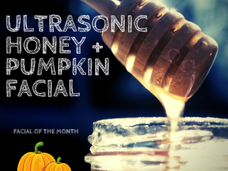 Ultrasonic Honey + Pumpkin Facial