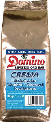 DOMINO ORO BAR CREMA500G BEANS DECAFFEINATED