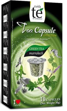 CUIDA TE TEA CAPSULES - MARRAKECH GREEN TEA