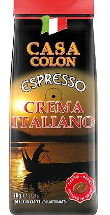 CASA COLON CREMA ITALIANO 1 KG BEANS
