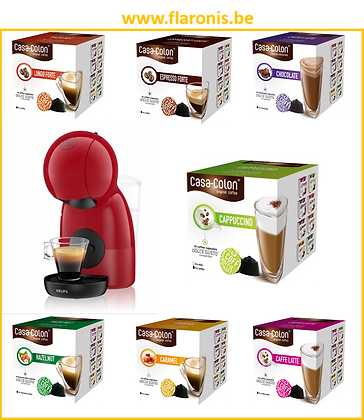 PACK DOLCE GUSTO -ROT