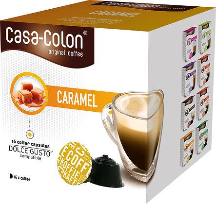 CASA COLON CAPSULES CARAMEL DOLCE GUSTO®*