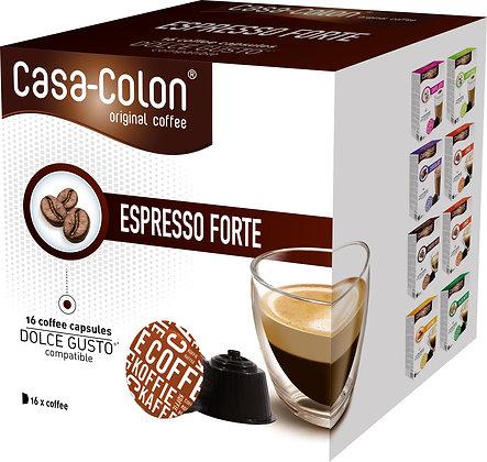 CASA COLON KAFFEEKAPSELN ESPRESSO FORTE DOLCE GUSTO®*