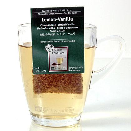 """GSCHWENDNER TEA """"LEMON-VANILLA"""" 2 g x25"""