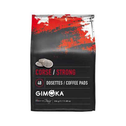 """GIMOKA COFFEE PADS """"STRONG"""" - 48 PADS"""