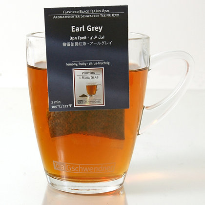 "GSCHWENDNER TEA ""EARL GREY"" 2 g x25"