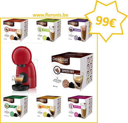 PACK DOLCE GUSTO -RED