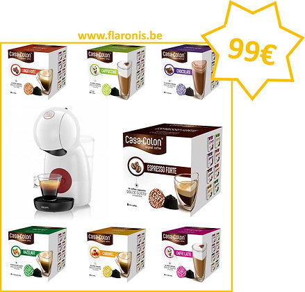 PACK DOLCE GUSTO - WHITE