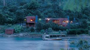 waterfall bay house