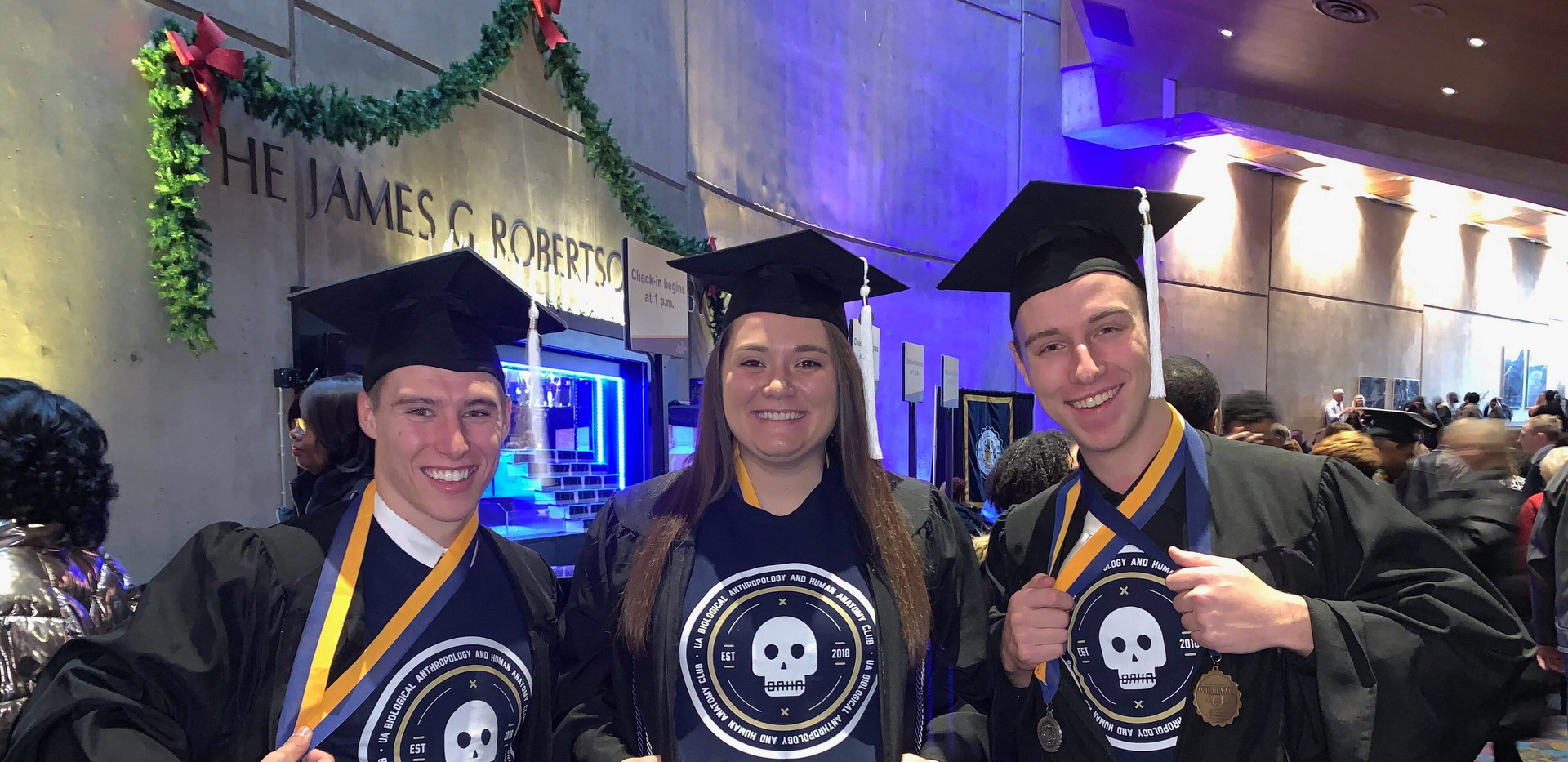 First BAHA graduates! December 2019.