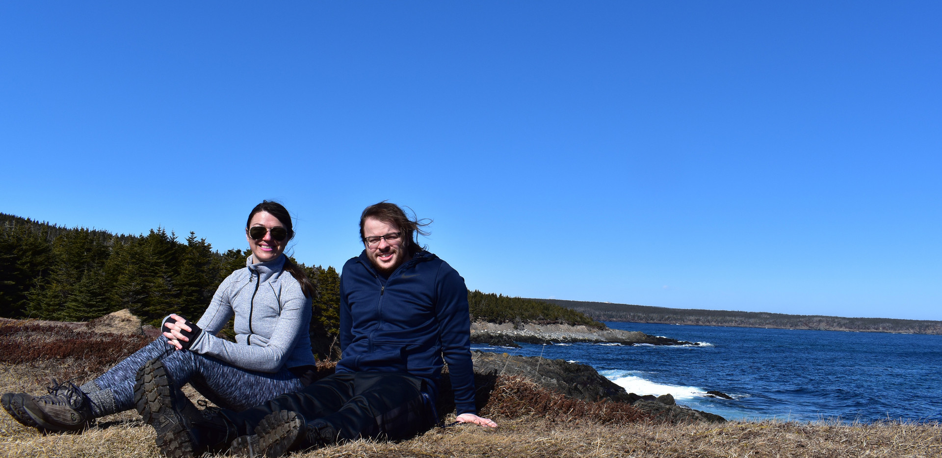 Dr. A and Josh Taylor at Tinkers Point
