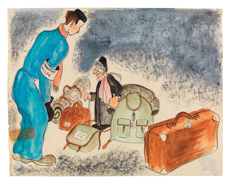 """Grandma's """"Hand"""" Luggage For The Journey East"""