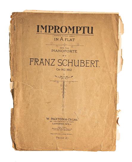 Franz Schubert Sheet Music