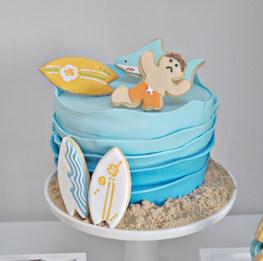 Surfer cake