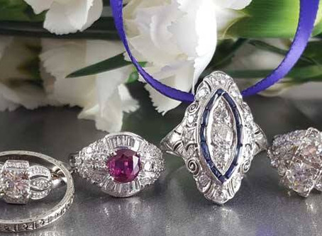 Annual Estate Jewelry Trunk Show!! November 17, 2018!