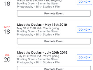 Meet the Doulas 2019 dates announced!