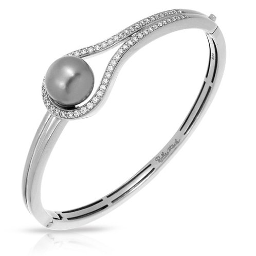 Claire Grey Pearl Bangle