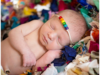 Newborn: Emerson Grace | Rainbow Baby  | Bowling Green, Scottsville KY Newborn Photographer